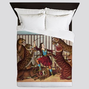 circus art Queen Duvet